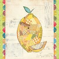 Fruit Collage II - Lemon Fine-Art Print