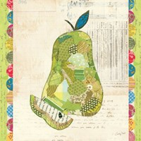Fruit Collage III - Pear - Fine-Art Print