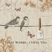 Words that Count III Fine-Art Print
