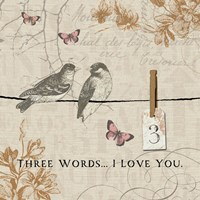 Words that Count III Fine-Art Print