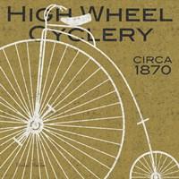 High Wheel Cyclery Fine-Art Print