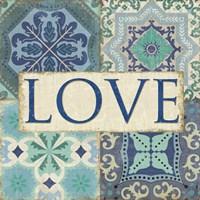 Santorini I - Love Fine-Art Print