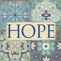 Santorini II - Hope Fine-Art Print