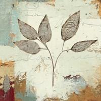 Silver Leaves III Fine-Art Print