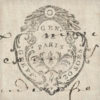 Letter Crest I Fine-Art Print