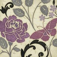 Perfect Petals I Lavender Fine-Art Print