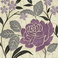 Perfect Petals II Lavender Fine-Art Print