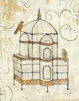 Bird Cage I Fine-Art Print