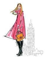 Colorful Fashion I - London Fine-Art Print