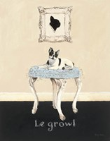Le Growl Fine-Art Print