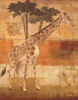 Animals on Safari I Fine-Art Print
