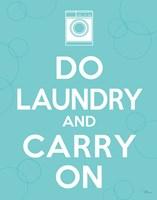 Laundry On I Fine-Art Print
