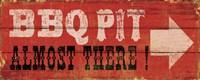 BBQ Pit Fine-Art Print
