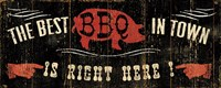 The Best BBQ in Town Fine-Art Print
