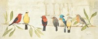 Adoration of the Magpie Panel II Fine-Art Print