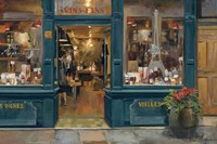 Parisian Wine Shop Fine-Art Print
