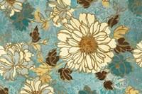 Sophias Flowers Blue Fine-Art Print