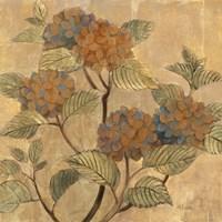 Golden Hydrangea Fine-Art Print