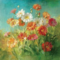 Painted Daisies Fine-Art Print
