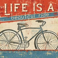 Beautiful Ride I Fine-Art Print