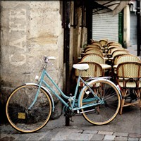 Cafe Bicycle Fine-Art Print