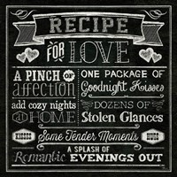 Thoughtful Recipes III Fine-Art Print