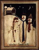 Winter Greetings Fine-Art Print