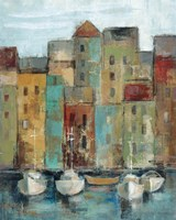 Old Town Port I Fine-Art Print