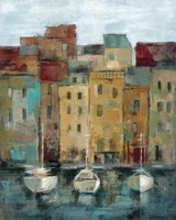 Old Town Port II Fine-Art Print