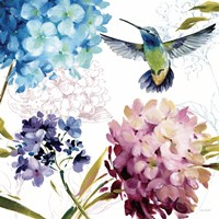 Spring Nectar Square III Fine-Art Print