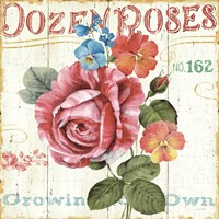 Rose Garden II Fine-Art Print