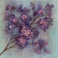 Twilight Cherry Blossoms I Fine-Art Print
