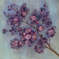Twilight Cherry Blossoms II Fine-Art Print