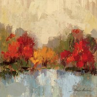 Fall Riverside I Fine-Art Print