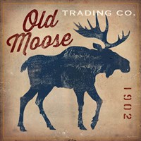 Old Moose Trading Co.Tan Fine-Art Print