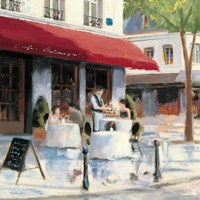 Relaxing at the Cafe I Fine-Art Print