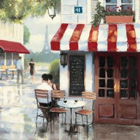 Relaxing at the Cafe II Fine-Art Print