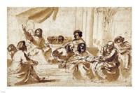 Christ Preaching in the Temple Fine-Art Print