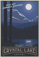 Camp Crystal Lake Fine-Art Print