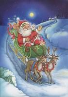 Here Comes Santa Clause Fine-Art Print