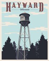 Hayward Water Tower Fine-Art Print