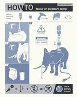 How To Build An Elephant Lamp Fine-Art Print