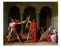 The Oath of Horatii Fine-Art Print