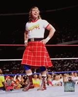 Rowdy Roddy Piper Action Fine-Art Print