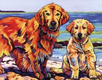 Ginger & Polar Fine-Art Print
