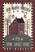 Americana House Fine-Art Print
