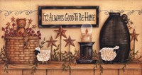 It's Always Good to be Home Fine-Art Print