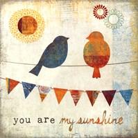 My Sunshine Framed Print