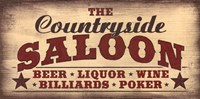 Countryside Saloon Fine-Art Print