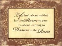 Dance in the Rain Fine-Art Print